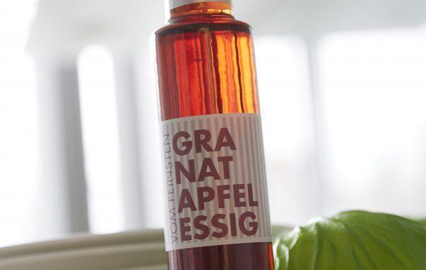 Granatapfel Essig