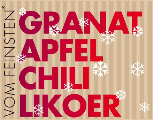 Granatapfel Chili Likör
