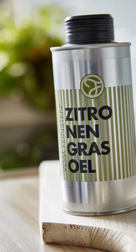 Zitronengras Öl in der Dose