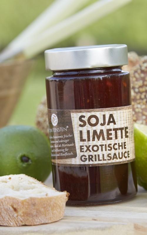 Grillsauce Soja Limette